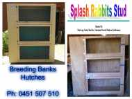 Breeding Banks & Hutches - (Ordered Then Built)