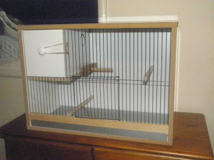 Budgie Breeding Cabinet 24x14 With Pull Out Nest Bird
