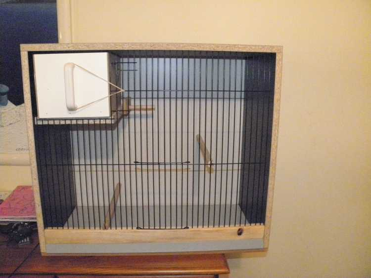 Budgie  breeding nest box cabinet